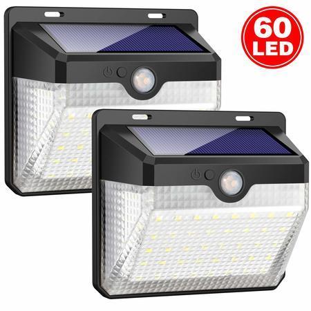 Venkovní solární LED světlo s pohybovým senzorem M60