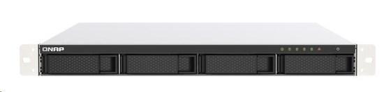 QNAP TS-453DU-RP-4G (4C/Celeron J4125/2,0-2,7GHz/4GBRAM/4x3,5SATA/2x2,5GbE/2xUSB2.0/2xUSB3.2/1xPCIe/1xHDMI/RP), TS-453DU-RP-4G
