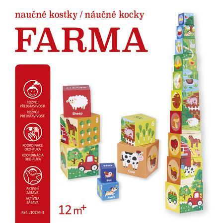 Farma naučné kostky/náučné kocky