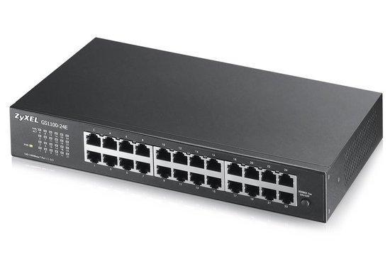 Zyxel GS1100-24 24 port Gigabit Unmanaged Switch v2, GS1100-24E-EU0102F