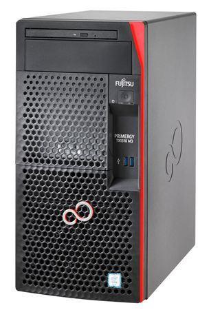 FUJITSU SRV TX1310M3 - E3-1225v6@3.3GHz, 16GB, DVDRW, 2x1TB, RAID 0,1 on b, 4xBAY3.5 SS 1x1000eth DP 250W - záruka 1rok, VFY:T1313SC250IN