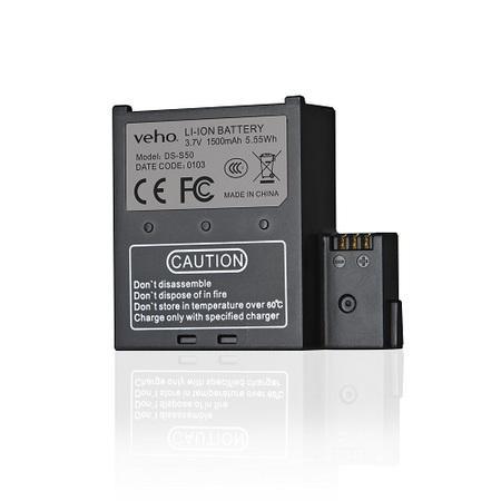 Baterie VEHO Muvi Li-Ion 1500mAh pro kamery K-série