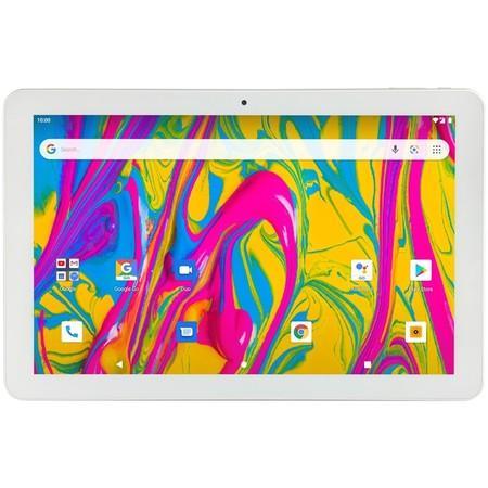 "Dotykový tablet Umax VisionBook T10 3G Plus 10.1"", 32 GB, WF, BT, 3G, GPS, Android Go - stříbrný/bílý"