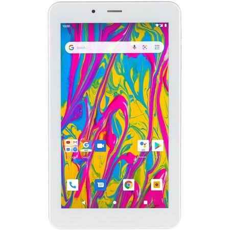 "Dotykový tablet Umax VisionBook T7 3G 7"", 16 GB, WF, BT, 3G, GPS, Android Go - stříbrný/bílý"