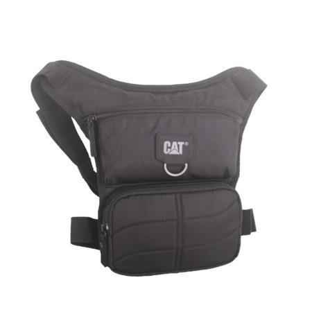 CAT MILLENIAL CLASSIC STEVE taška s připevněním na nohu, černá