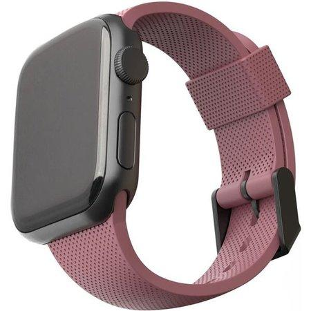 UAG [U] Dot silikonový řemínek Apple Watch 4442 mm růžový