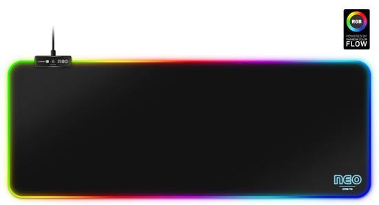 CONNECT IT NEO RGB podložka pod myš a klávesnici, vel. L (800 × 300 mm), CMP-3100-LG