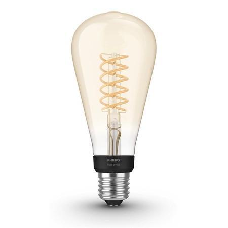 Žárovka LED Philips Hue Filament Bluetooth 7W, E27, White