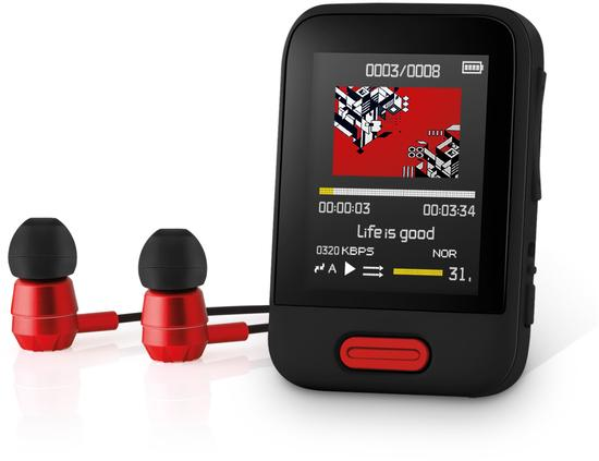 SENCOR SFP 7716 BK 16GB MP3/MP4 PLAYER