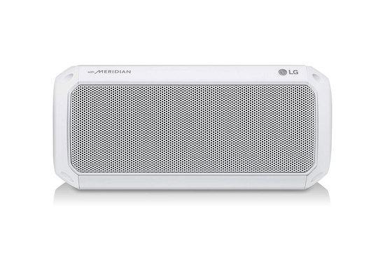 LG PL5W Bluetooth přenosný reproduktor bílý, PL5W