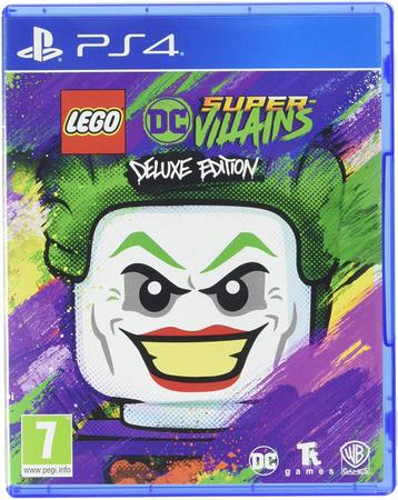 PS4 LEGO DC Super-Villains (Deluxe Edition)
