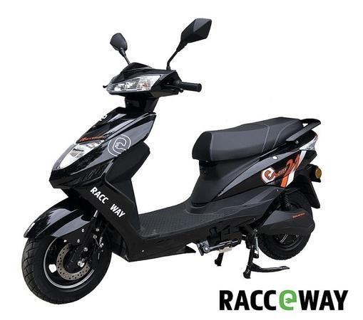 Elektrický motocykl RACCEWAY CITY 21, černý + držák zdarma