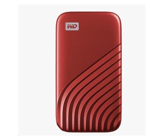 SanDisk WD My Passport SSD externí 500GB , USB-C 3.2 ,1050/1000MB/s R/W PC & Mac ,Gold, WDBAGF5000AGD-WESN