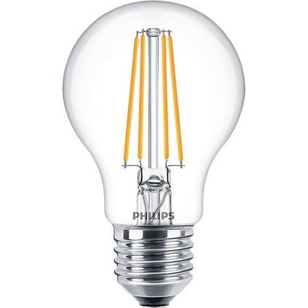 Žárovka LED Philips klasik, 7W, E27, teplá bílá, 3ks