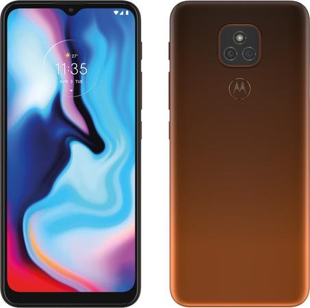 Motorola Moto E7 Plus 4GB/64GB oranžový