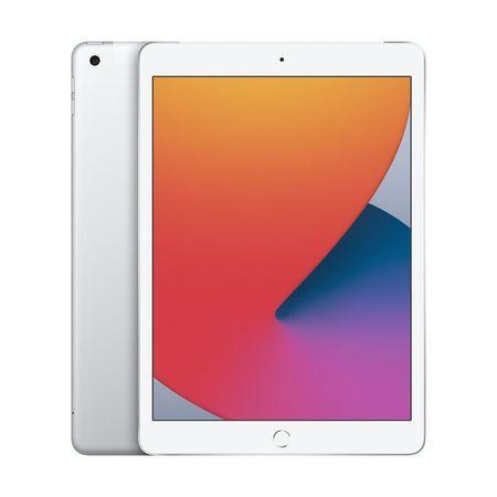 Apple iPad 2020 128GB Wi-Fi + Cellular Silver MYMM2FD/A