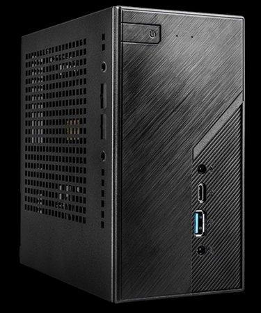 ASRock mini PC H470 1x LGA1200 (65W),2x SODIMM DDR4, M.2+2x 2,5 SATA,1Gb LAN, HDMI, DP, DP via USB-C, VGA, 120W, DESKMINI H470/B/BB/BOX