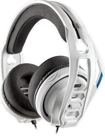 Plantronics RIG 400HS, herní sluchátka s mikrofonem pro PS4, bílá