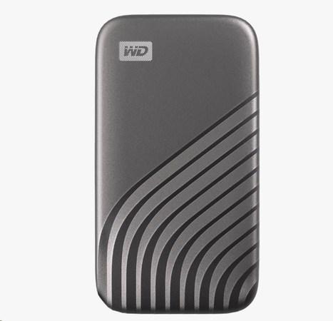 WD My Passport externí SSD 2TB vesmírně šedý