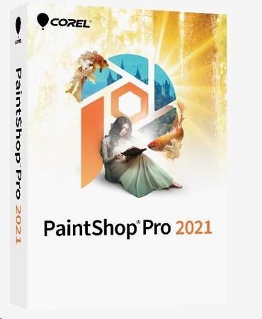 PaintShop Pro 2021 Mini Box - Windows EN/DE/FR/NL/IT/ES, PSP2021MLMBEU