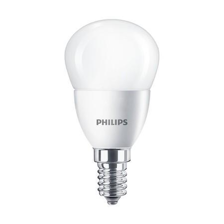 Žárovka LED Philips klasik, 4W, E14, teplá bílá
