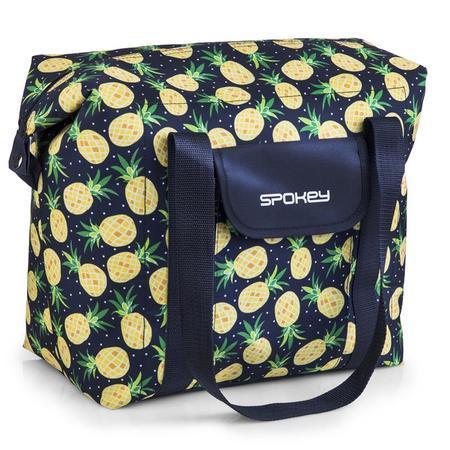 Spokey SAN REMO Termo taška, vzor - ananas, 52 x 20 x 40 cm