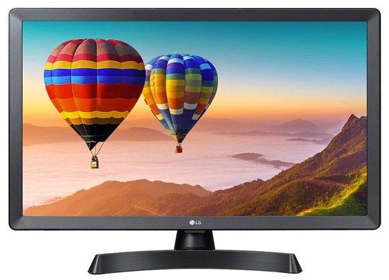 "LG TV monitor 24TN510S-PZ / 23,6""/ IPS / 1366x768 / 16:9 / DVB-T2/C/S2 / HDMI / USB / repro, 24TN510"
