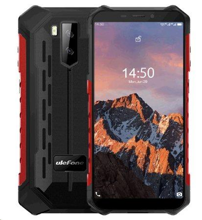 UleFone Armor X5 PRO DS 4+64GB gsm tel. Red