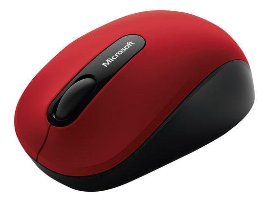 MS Bluetooth Mobile Mouse 3600 EN/DA/FI/DE/IW/HU/NO/PL/RO/SV/TR EMEA 1 License Dark Red, PN7-00013