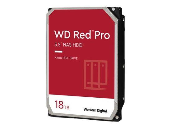 WD Red Pro 18TB 6Gb/s SATA 512MB Cache Internal 3.5inch HDD bulk, WD181KFGX