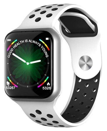 "IMMAX chytré hodinky SW13 PRO/ 1.3"" dotykový TFT LCD/ BT/ IP67/ Android 2.3 / iOS 4.0 a vyšší/ čeština/ bílo-stříbrné"