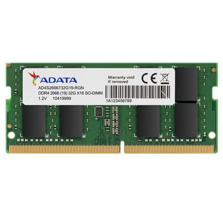 ADATA 4GB DDR4 2666MHz / SO-DIMM / CL19