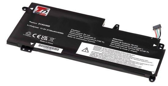 Baterie T6 power Lenovo ThinkPad 13 20GJ/20GK, 20GL/20GM serie, 3680mAh, 42Wh, 3cell, Li-Pol, NBIB01