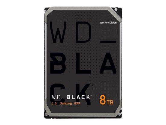 WD BLACK WD8001FZBX 8TB SATAIII/600 256MB cache 7200 ot.