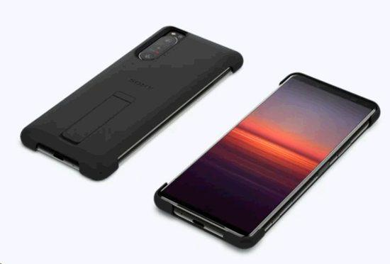 Sony Style Cover with Stand pro Xperia 5 II Black