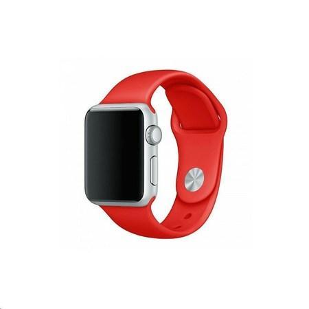 COTEetCI silikonový sportovní náramek pro Apple watch 38 / 40 mm červený
