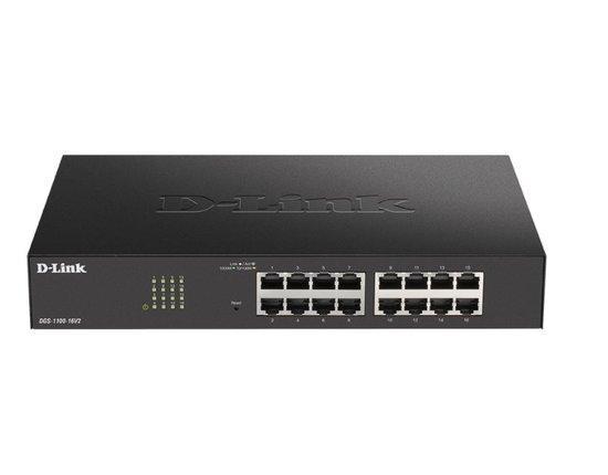 D-Link 26-Port PoE+ Gigabit Smart Managed Switch, DGS-1100-26MPV2