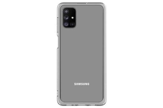 Kryt na mobil Samsung M51 - průhledný