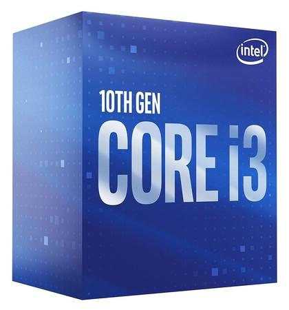 INTEL Core i3-10100F 3.6GHz/4core/6MB/LGA1200/No Graphics/Comet Lake, BX8070110100F