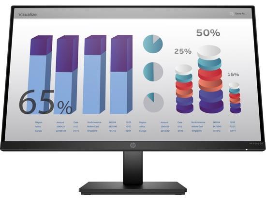 """HP LCD ProDisplay P24q G4 23.8"""" IPS w/LED micro-edge(2560x1440,300, 1000:1, 5ms,VGA, HDMI 1.4,flicker-free, low blue l.), 8MB10AA#ABB"""