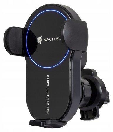 NAVITEL bezdrátová nabíječka SH1000 PRO pro mobil/ USB-C/ kompat. adaptéry 5 V, 3 A; 9 V, 2 A; 12 V, 2 A; QC 2.0; QC 3.0