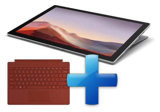 Microsoft Surface Pro 7 - i3-1005G1 / 4GB / 128GB, Platinum; Commercial (alternativní SKU)