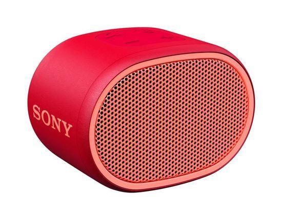 SONY SRS-XB01R Přenosný bezdrátový reproduktor s technologií Bluetooth, červený