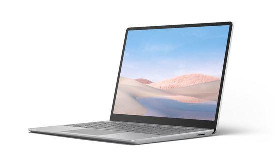 Microsoft Surface Laptop Go - i5-1035G1 / 16GB / 256GB, Platinum; Commercial, 21O-00009