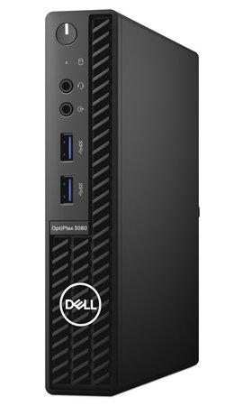 DELL OptiPlex 3080 Micro MFF/ i3-10100T/ 8GB/ 128GB SSD/ Wifi/ W10Pro/ 3Y Basic on-site, 6WKMR