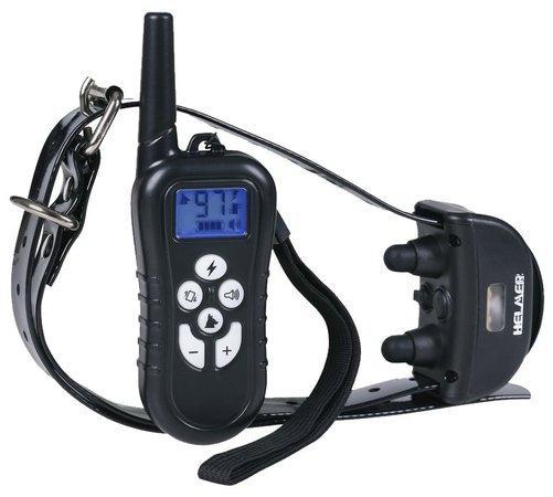 HELMER elektronický výcvikový obojek pro psy TC 21/ dosah 500 m/ IP67/ délka obojku 65 cm