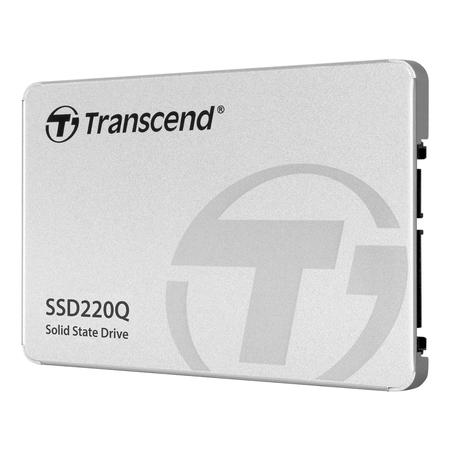 TRANSCEND, 500GB 2.5 SSD SATA3 QLC, TS500GSSD220Q