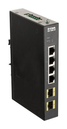 4-port Gigabit Industrial Switch, 4-port Gigabit Industrial Switch, DIS-100G-6S