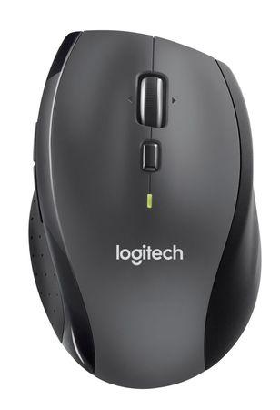 Logitech® Wireless Mouse M705 Marathon Charcoal - EMEA, 910-006034