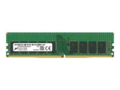 MICRON, DDR4 ECC UDIMM STD 16GB 2Rx8 2666, MTA18ASF2G72AZ-2G6E2